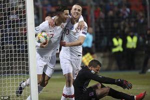 Ronaldo ghi bàn cuối giờ, Bồ Đào Nha đoạt vé tham dự Euro 2020