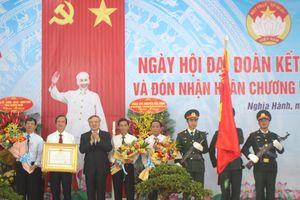 Bí thư Trung ương Đảng dự Ngày hội Đại đoàn kết tại Quảng Ngãi