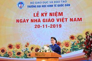 Chủ tịch Quốc hội dự Lễ Kỷ niệm 20/11 tại ĐH Kinh tế Quốc dân