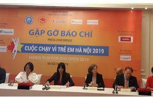 Họp báo giới thiệu Cuộc chạy vì trẻ em Hà Nội 2019