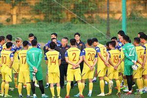 HLV Park Hang Seo loại 2 cầu thủ, chốt danh sách đấu tuyển Thái Lan