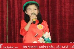 Học sinh, giáo viên Nghi Xuân thi đọc thuộc truyện Kiều