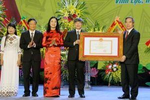 Vĩnh Lộc đạt chuẩn huyện nông thôn mới