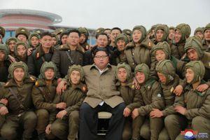 Chủ tịch Triều Tiên thị sát tập trận trên không