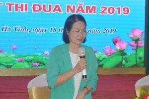 Phó Chủ tịch Hội LHPN Việt Nam dự Hội nghị tổng kết hoạt động thi đua cụm Bắc Trung Bộ