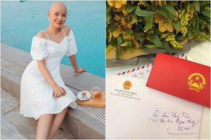 Nữ sinh mắc ung thư hạnh phúc khi nhận được thư của Thủ tướng Nguyễn Xuân Phúc