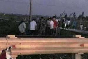 Thầy giáo bị tàu hỏa tông tử vong ở Thanh Hóa