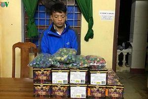 Quảng Bình: 2 ngày bắt giữ 4 vụ vận chuyển pháo lậu