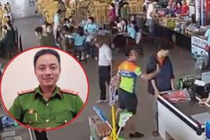 Cho ra khỏi ngành Thượng úy Nguyễn Xô Việt ném xúc xích, tát nhân viên bán hàng