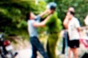 Thanh niên 9X gây rối, dùng kéo tấn công Đại úy công an bị thương