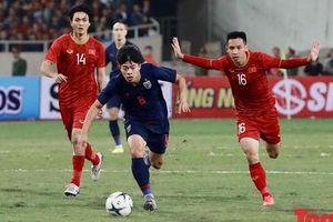 Trận đấu Việt Nam vs ĐT Thái Lan: Chia điểm tiếc nuối, ĐT Việt Nam tiếp tục dẫn đầu bảng