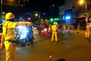 Cấm đường ở trung tâm TP.HCM để người dân cổ vũ trận VN - Thái Lan