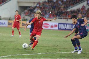 Đặng Văn Lâm thi đấu xuất sắc, Việt Nam cầm hòa Thái Lan trên sân Mỹ Đình