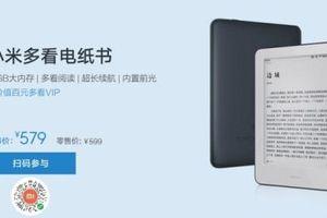 Xiaomi tung ra máy đọc sách cạnh tranh với Amazon Kindle