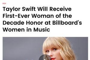 Taylor Swift được gỡ lệnh cấm biểu diễn các ca khúc cũ tại AMAs