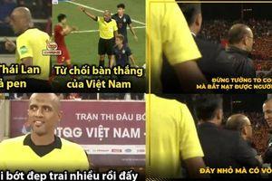 Trọng tài Ahmed Al-Kaf bớt đẹp trai, HLV Park Hang-seo đòi xử trợ lý HLV Thái