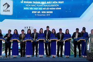 Tập đoàn ADM khánh thành nhà máy sản xuất thức ăn chăn nuôi ở Hà Nam