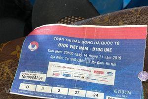 Bắt giữ nhóm đối tượng làm giả vé bóng đá trận Việt Nam-Thái Lan