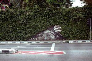 Lạ độc tác phẩm nghệ thuật đường phố sáng tạo không giới hạn