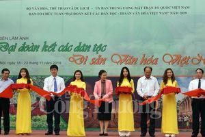 Triển lãm ảnh: 'Đại đoàn kết các dân tộc - Di sản văn hóa Việt Nam'