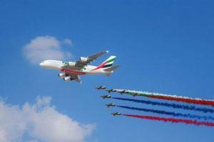 Ngắm dàn máy bay hiện đại nhất tại Triển lãm Hàng không Dubai 2019
