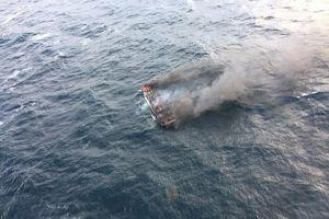 Cháy tàu cá ở Hàn Quốc, 6 người Việt mất tích