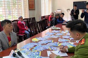 Bắt 5 kẻ sản xuất, tiêu thụ gần 1.000 vé giả trận Việt Nam vs Thái Lan