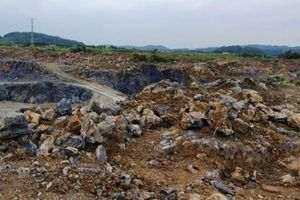 Hải Phòng: Sạt lở mỏ đá khiến 1 công nhân tử vong