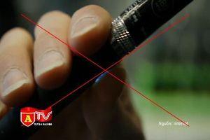 Bộ Y tế đề xuất cấm hoàn toàn thuốc lá điện tử