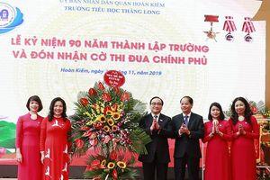 Bí thư Thành ủy Hoàng Trung Hải: Chung tay xây dựng môi trường giáo dục lành mạnh, an toàn, tiên tiến