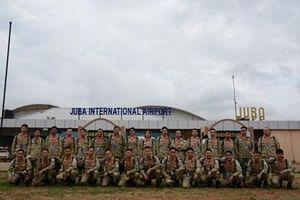 Bệnh viện Dã chiến cấp 2 số 2 có mặt tại Phái bộ Nam Sudan