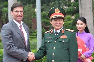 Bộ trưởng Quốc phòng Hoa Kỳ Mark Esper thăm Việt Nam