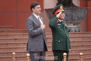 Bộ trưởng Quốc phòng Việt - Mỹ hội kiến tại Hà Nội