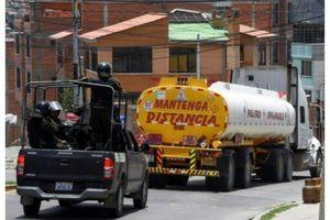Bolivia: Người ủng hộ cựu Tổng thống Morales phong tỏa một nhà máy lọc dầu