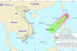 Bắc Bộ trời rét, bão Kalmaegi đang áp sát biển Đông