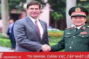 Bộ trưởng Quốc phòng Mỹ thăm Việt Nam