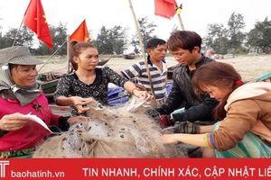 2 tổ đồng quản lý nghề cá ven bờ ở Nghi Xuân được giao quyền quản lý