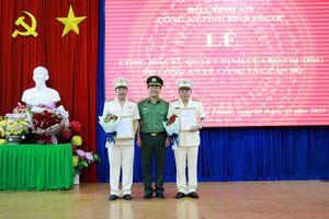 Bộ Công an bổ nhiệm 2 Phó giám đốc Công an tỉnh Bình Phước
