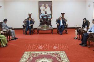 Thúc đẩy quan hệ hợp tác giữa tỉnh An Giang với các địa phương Campuchia