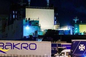 Lại phát hiện 25 người trong container đông lạnh đang trên đường đến Anh