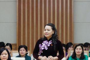 Chủ tịch Hội LHPN bày tỏ hai nguyện vọng liên quan tới quyền lợi của phụ nữ, trẻ em với Thủ tướng