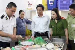 Hà Nội: Mở rộng thí điểm thanh tra chuyên ngành an toàn thực phẩm ở cơ sở