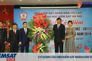 Trường Đại học Kiểm sát Hà Nội kỷ niệm 37 năm ngày Nhà giáo Việt Nam