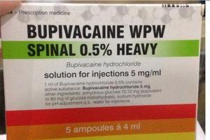 Vụ sản phụ chết nghi thuốc gây tê:Cần Thơ đổi thuốc từ tháng 4