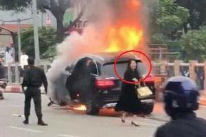 Tạm giữ nữ tài xế Mercedes GLC 250