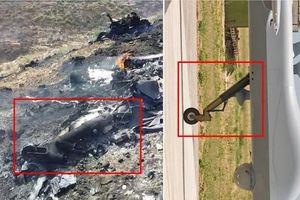 Cận cảnh chiếc UAV của Italy rơi tại Libya
