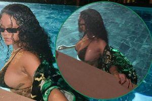 Nữ ca sĩ giàu nhất thế giới tung ảnh khoe vòng một 'khủng'