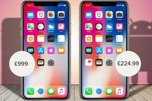 iPhone song sinh là 'Goophone', dáng hình y đúc giá rẻ bội phần