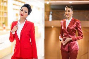 Bản tin Hoa hậu Hoàn vũ 21/11: H'Hen Niê 'chặt đẹp' Hoàng Thùy khi lên đồ y chang phong cách
