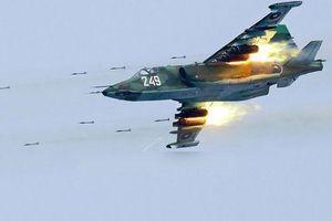 Su-25 sẵn sàng dội bom nếu lực lượng quân cảnh Nga bị tấn công